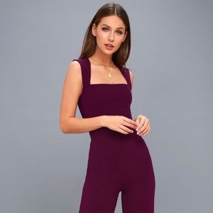 Lulu's | 'Enticing Endeavors' Purple Jumpsuit